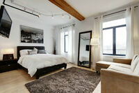 FULLY FURNISHED W/ PARKING in heart of Griffintown