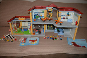 Playmobil School, Gym & Crossing Guard Kingston Kingston Area image 1