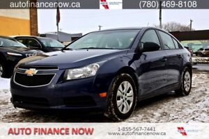 2014 Chevrolet Cruze REDUCED PAYMENTS $128 biweekly 39,000 kms.