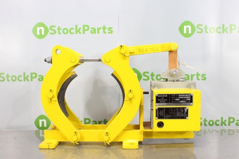 Ederer Corporation 208-a Ac Industrial Brake Nsmd