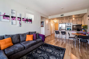 Modern Furnished Unit with Waterfront Coal Harbour Views