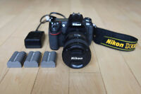 Nikon D300s 8+ Condition with Nikon 18-200mm Lens & Extras