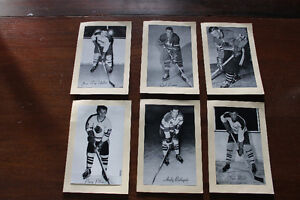BEE HIVE COLLECTIBLE VINATAGE HOCKEY PHOTOS