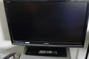 "Used SHARP color TV 42"" for sale"