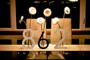 LARGE MODERN METAL HOUSE NUMBERS by HOUSE NUMBER KING