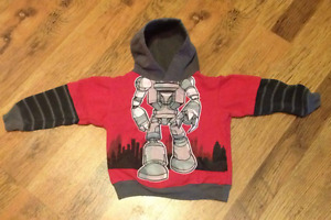 Boys Robot sweater size 3T