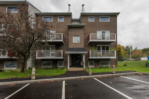 Updated 2 storey stacked condo on top floor in central area!​