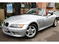 1998 (S Reg) BMW Z3 1.9 ROADSTER Silver Convertible FSH Long MOT Low Mileage
