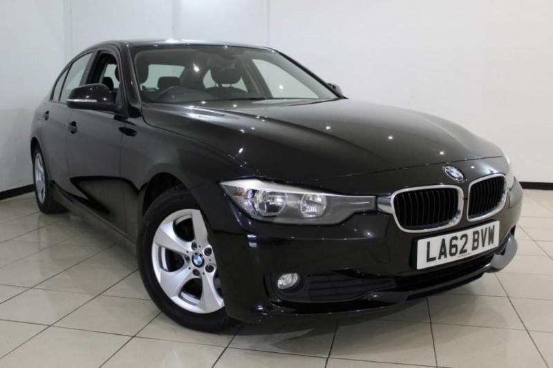 2013 62 BMW 3 SERIES 2.0 320D EFFICIENTDYNAMICS 4DR 161 BHP DIESEL