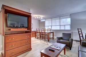 Bloor and Yonge- One and Two Bedroom Furnished Suites