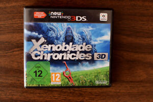 Xenoblade Chronicles New Nintendo 3DS PAL (Bundle Pack Version)