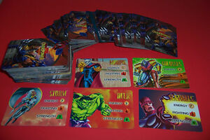 Marvel and Dc Overpower CCG Card Game
