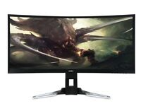 2560X1080 VA 144HZ Freesync Superwide Curved LED Monitor XZ350CUBMIJPHZ