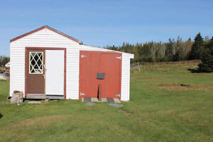 10 X 12 Shed with an 8X12 add on