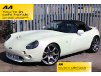 TVR Tamora Cerbera Chimaera Tuscan PEARL white/gold/purple. AMAZING PROVENANCE!!