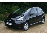 Only 23928 Toyota AYGO Black with FULL SERVICE HISTORY and WARRANTY