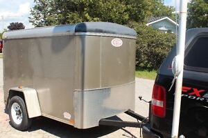 2012  5x8  enclosed trailer