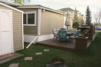 Showhome Style Mobile Home For Sale! A Must See!
