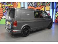 VW TRANSPORTER T6 T30 LWB 2.0BITDI 180PS HIGHLINE PANEL VAN SPOTLINE PACK