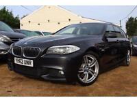 2012 62 BMW 5 SERIES 2.0 525D M SPORT TOURING 5D AUTO 215 BHP DIESEL