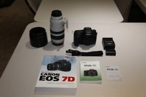 Canon 7D Camera with 100-400 L IS Lens