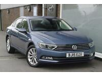 2015 Volkswagen Passat 2.0 TDI SE Business 150PS DSG Diesel blue Semi Auto