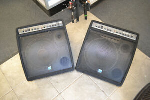 Yorkville Compact Powered Monitor speakers 100 km