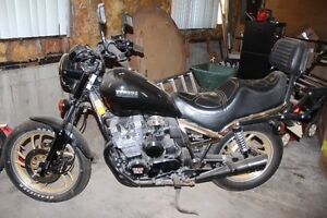moto Yamaha 750 midnight