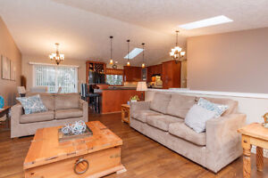 Updated SV Home with Fully Fenced Yard & Downstairs Suite