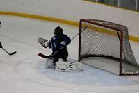 Spare Hockey Goalie Available