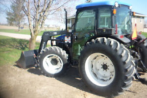 NEW HOLLAND TN75 600 HOURS 4WD
