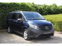 2016/66 plate Mercedes-Benz Vito 114 Crew Van Long