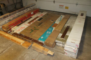 3/4 Hardwood Flooring - 22 Boxes / Colors - $50 for everything !