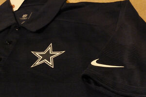 Nike Dri-Fit Dallas Cowboys Polo/Golf Shirt Kitchener / Waterloo Kitchener Area image 3