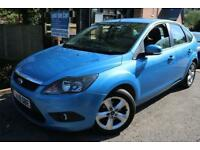 2009 (59) Ford Focus 1.6 Zetec Blue 5 Dr Full Service History Finance Available