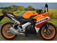 Honda CBR125 R 2015**DIGITAL DISPLAY, PILLION GRAB RAIL, LOW MILES, CBT LEGAL**