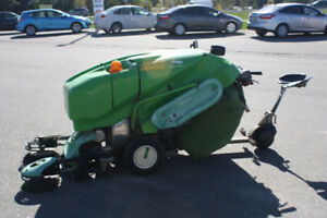 Green Machine Diesel Sweeper