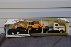 John Deere collectable toy -  truck and backhoe