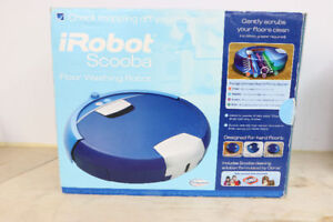 **KEEP IT CLEAN** iRobot Scooba Robotic Floor Cleaner - 1834