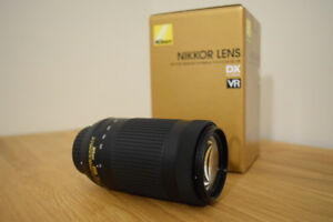 Nikon AF-P DX Nikkor 70-300mm for Sale $350