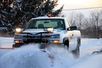Snow removal! Call today to get on the list