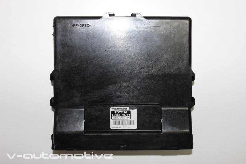 2012 LEXUS CT 200H / POWER MANAGEMENT CONTROL UNIT 89681-76030