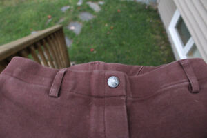 brown Elation breeches in good condition