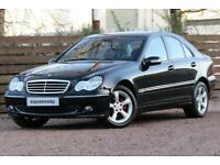 2006 Mercedes-Benz C Class 1.8 C180 Kompressor Avantgarde SE Saloon 4dr