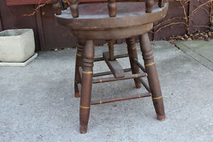 Antique Swivel Captain's Chair London Ontario image 5