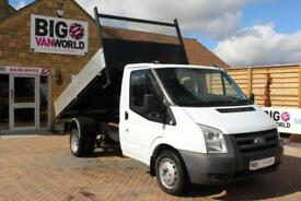 2008 FORD TRANSIT 350 TDCI 100 MWB SINGLE CAB ALLOY TIPPER DRW TIPPER DIESEL
