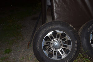 MS 265/70R17 tires and rims