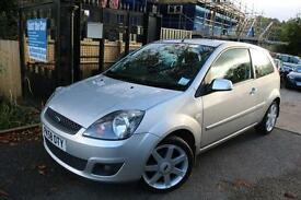 Ford Fiesta 1.4 Zetec Blue 3 Doors Silver Colour Long MOT Great First Car Financ
