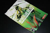 PS2-METAL GEAR SOLID 3-SUBSISTENCE-MANUAL (COMPLETE YOUR GAME)