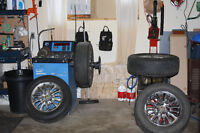 Tire swap $10/tire Tire Change over $15-$20/tire Flat Repairs